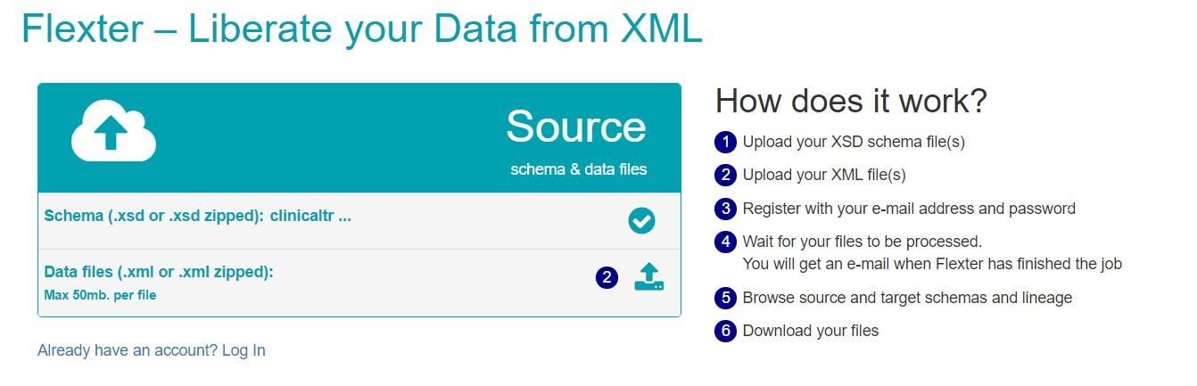 querying xml files with tableau via flexter sonra