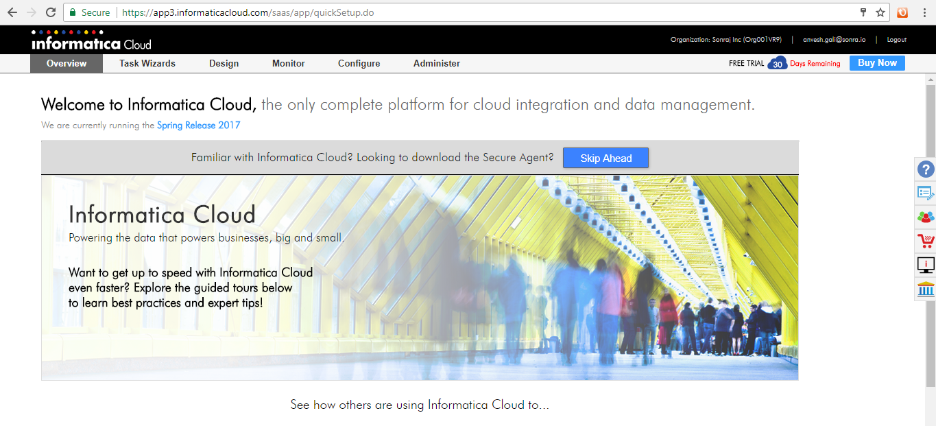 Flexter, Informatica, and Redshift work Hand in Hand to