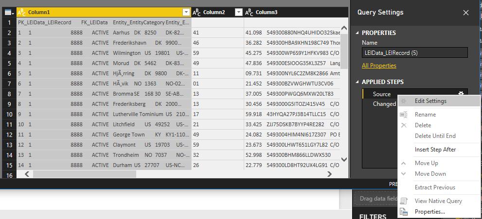 converting lei xml data to power bi sonra