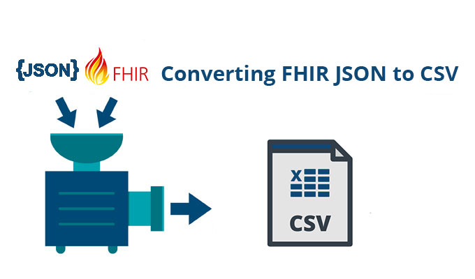 Converting FHIR JSON to CSV with Flexter - Sonra
