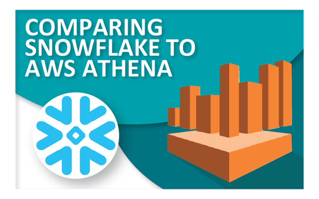 Comparing Snowflake cloud data warehouse to AWS Athena query