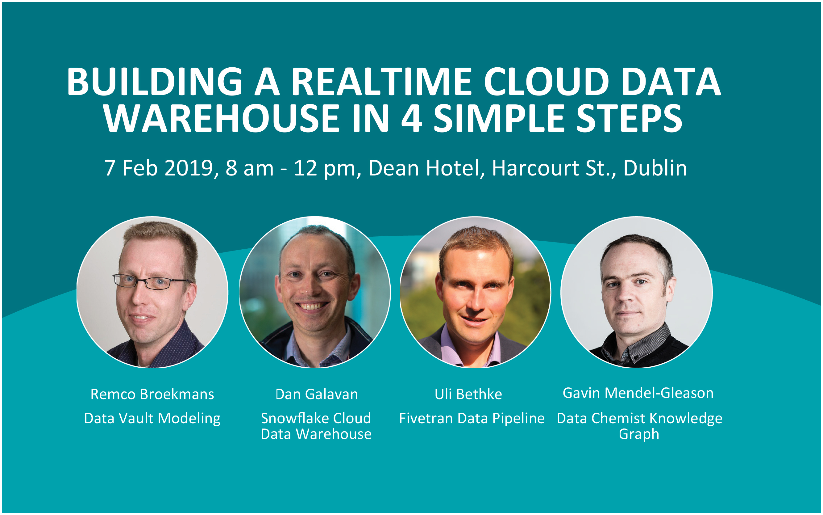 Event] Building a realtime cloud data warehouse in 4 simple steps